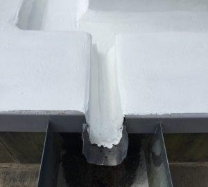 Mastic Asphalt gutter